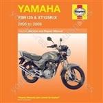 Motorcycle Manual - Yamaha YBR125 & XT125R/X (2005-2008)