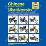 Motorcycle Manual - Chinese Taiwanese & Korean 125cc