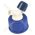 Jerry Can Cap & Tap for 1414A / 1418C - Blue