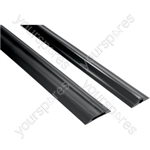 Rubber Cable Curb - Single Channel - 1.5m
