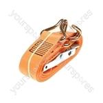 Ratchet Tie Down Strap & Hooks - 5m x 50mm