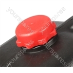 Waste Carrier Cap - Red