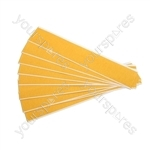 Badge Tape - 50mm x 300mm - Pack Of 10