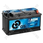 AGM Start Stop Plus Battery 12V - 95Ah - 850A