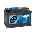 AGM Start Stop Plus Battery 12V - 70Ah - 760A