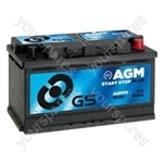 AGM Start Stop Plus Battery 12V - 80Ah - 800A