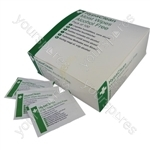 HypaClean Alcohol Free Moist Wipes - Pack of 100