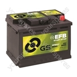 EFB Start Stop Battery 12V - 60Ah - 560A