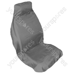 Car Seat Cover - Fast Fit - Front Single - Grey