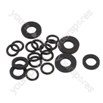 Aqua Roll Mains Adaptor Tap Connector Seals Kit