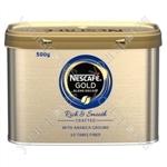 Gold Blend Decaff Coffee Granules - 500g Tin