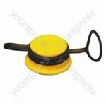 Oil Filler Cap - Yellow - Ford CVH