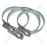 Assorted M/S Hose Clips - Pack of 3