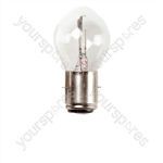 Headlamp Bulb - 6V 25/25W BA20d - 35mm