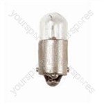 Miniature Bulbs - 12V 2W Peanut BA7s - Indicator & Panel - 7mm