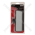 Rear View Suction Mirror - Flat Glass - Large - 16 x 7cm