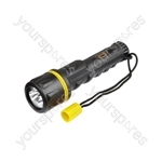 Rubber LED Torch - 35 Lumens