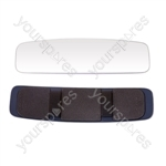 Rear View Clip On Mirror - Panoramic - 12 x 3in.