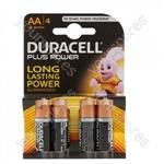 Plus Power Alkaline AA Batteries - Pack of 4