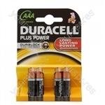 Plus Power Alkaline AAA Batteries - Pack of 4