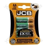 Rechargeable AA Batteries - 1200mAh - Pack of 4