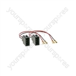 Speaker Adaptor Lead - Citroen, Peugeot & Toyota (2005-2010)