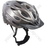 "Vortexâ""¢ Adult Graphite Cycle Helmet 58-61cm"