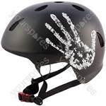 "The Handâ""¢ Black BMX Helmet 56-58cm"