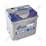 SMF Conventional Battery 12V - 52Ah - 460CCA
