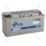 SMF Conventional Battery 12V - 110Ah - 900CCA