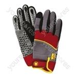 Wolf Garten Washable Power Tool Gloves Small - Medium