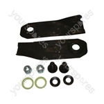 "Victa 19"" Replacement Lawnmower Blade & Bolt Set"