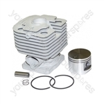 Replacement Brushcutter Stihl FS480 Cylinder Assembly with Piston