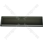 Indesit Grill Door Glass 124