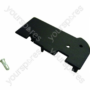 Indesit Black Lower Right Hand End Cap