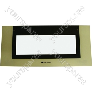 Hotpoint Top Oven Outer Door Glass Spares