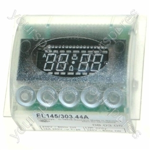 Indesit White Oven Timer Assembly