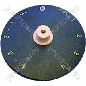 Indesit Control Knob Indicator Disc Assembly