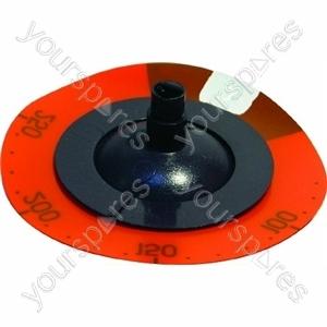 Indesit Orange/Black Cooker Knob and Indicator Disc