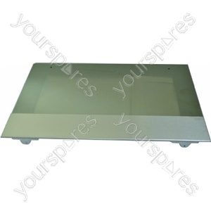 Cannon Left Hand Large Oven Outer Door Glass