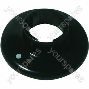Indesit Group Knob disc black Spares