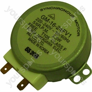 Indesit Microwave Synchoronous Turntable Motor