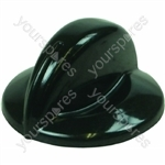 Indesit 6 mm Black Hob Control Knob