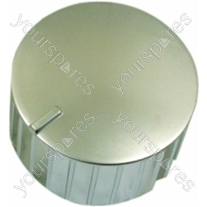 Indesit Cooker Knob with Chrome Finish