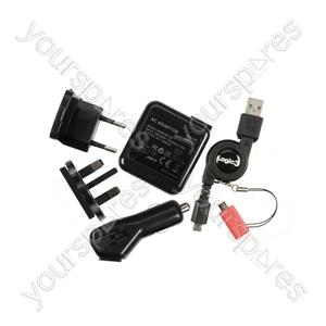 Blackberry 3-in-1 Power Kit