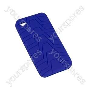 iPhone 4 - Silicone Grip - Blue