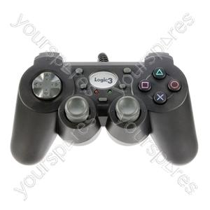 PS2 GamePad - Black
