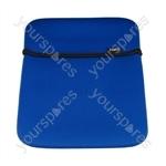 iPad Neoprene Case - Blue/black