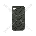 iPhone 4 - Silicone Grip - Black
