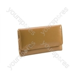 iPhone 4 - Leather Wallet - Brown